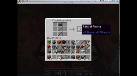 come fare una porta su minecraft minecraft come creare letto fornace spada piccone e pala