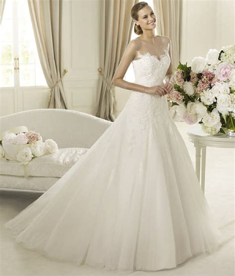 romantic 2013 wedding dresses from pronovias glamour