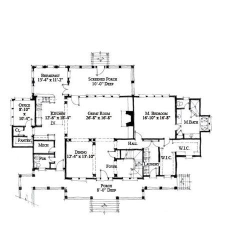 wood duck house plans allison ramsey architects floorplan for wood duck 3469