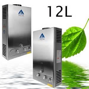 Gas Water Heater Blue Gaz 12l min 24kw chauffe eau instantan 233 192 gaz propane avec
