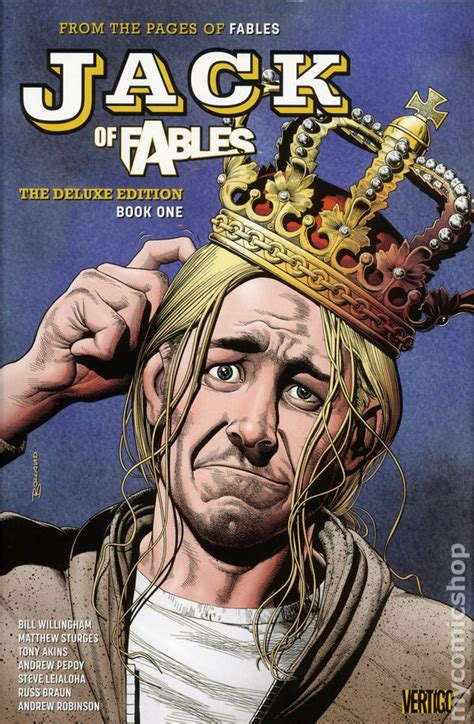 fables deluxe edition hc 1401230970 jack of fables hc 2017 dc vertigo the deluxe edition 1 1st