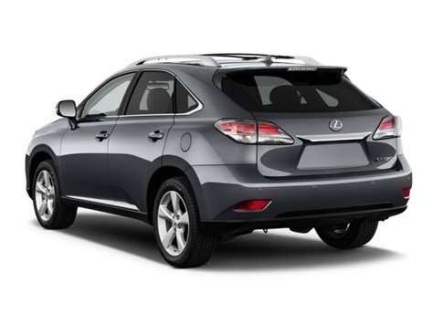 2015 lexus rx 350 fwd 4 door angular rear exterior view