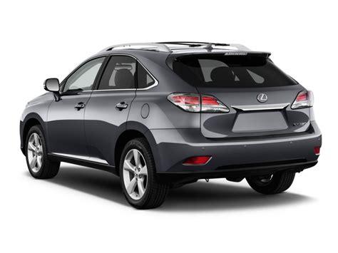 car lexus 350 2015 lexus rx 350 fwd 4 door angular rear exterior view