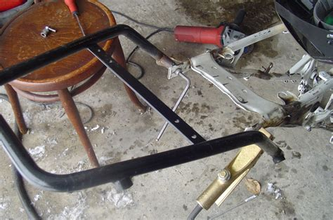 porta scooter per cer fabrication d un support de valise demontable ancien post