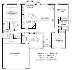 1800 Sq Ft Floor Plans 1800 Square 4 Bedrooms 3 Batrooms 2 Parking Space