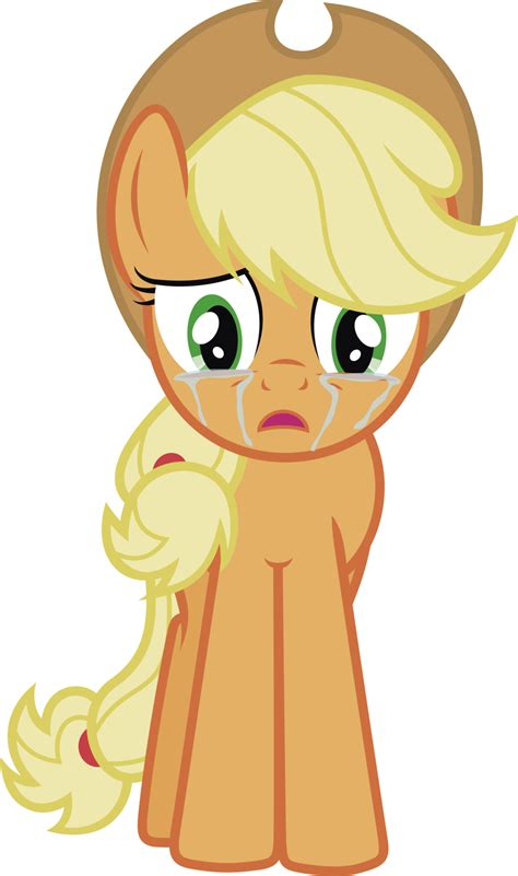 imagenes de applejack applejack in tears by j5a4 on deviantart