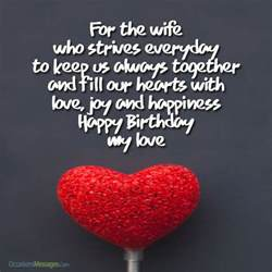 romantic birthday wishes for wife occasions messages