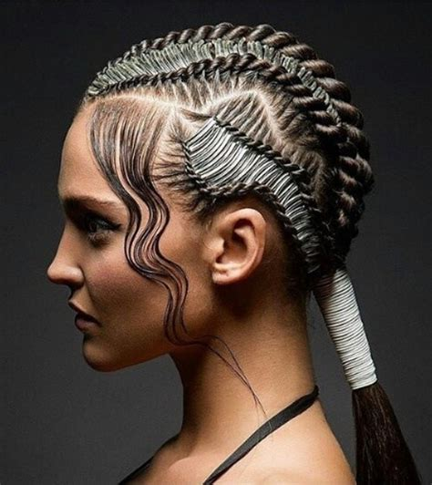 micro briad pin up 40 wet hairstyles that will make you hang up your hair
