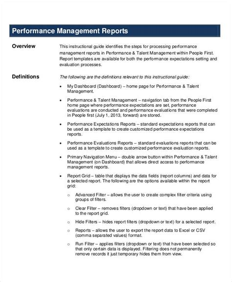 performance resume sle performance management letter template 28 images