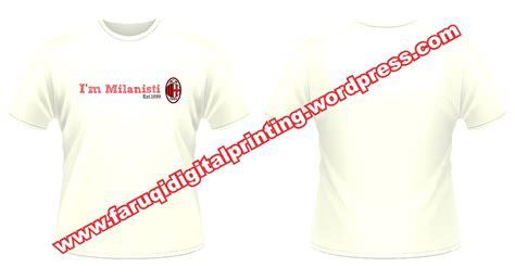 Kaos Distro Bola Ac Milan Spandex Bordir Putih Ukuran S 1 fb0004 a i m milanisti est 1889 distro nganggur produktif