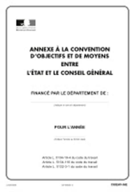 Contrat unique d'insertion (CUI) - Annexe à la convention