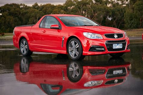 new holden utes holden ute driven holden s vf commodore based ute goauto