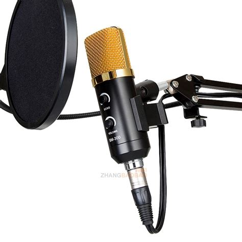 Best Seller Micropone Tanpa Kabel 2 Pcs usb condenser studio sound recording microphone shock mount tripod stand new