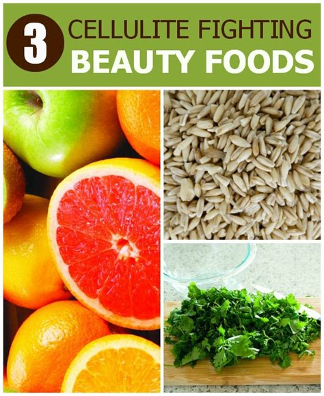 Best Cellulite Detox Diet by 3 Top Cellulite Fighting Foods
