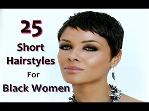 short black hair styles for women with alopecia 25 short hairstyles for black women 2016 youtube