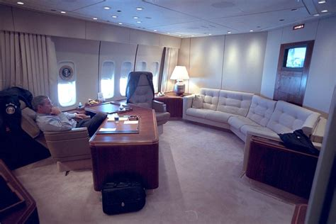 air force one bedroom new photos show president bush s initial response to 9 11