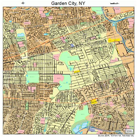 Garden City Ny To Nyc Garden City New York Map 3628178
