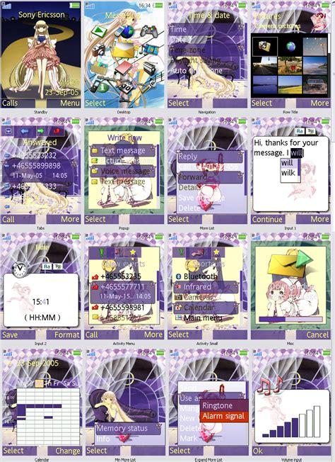 download themes k800i chobits k800i theme by donjuan82 on deviantart