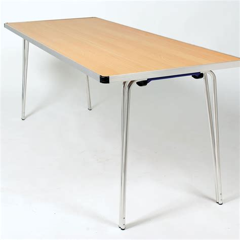 folding tables buy gopak contour rectangular folding table w610mm tts