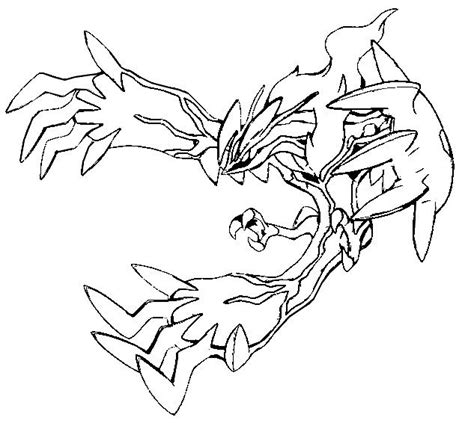 Legendary Pokemon X And Y Coloring Pages Cartoon Best Coloring Pages X And Y