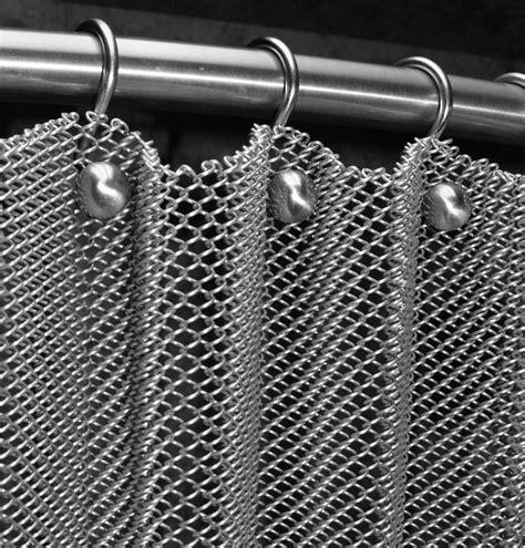 metal drapery decorative shower curtain ball hooks cascade coil