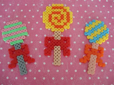 what to do with hama cupcake cutie hama bead projects