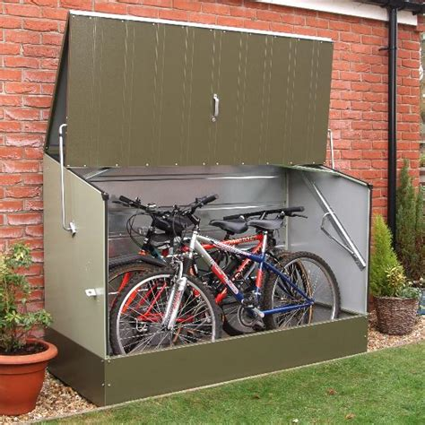 Trimetals Bike Shed by Trimetals Bicycle Store