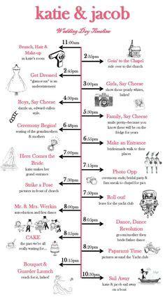 Hochzeitsmappe Kaufen by Wedding Day Timeline Charis Design Studio I Like