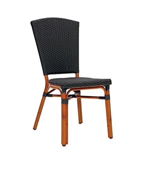 chaise aluminium exterieur m0147 chaise tress 233 e le mobilier du pro