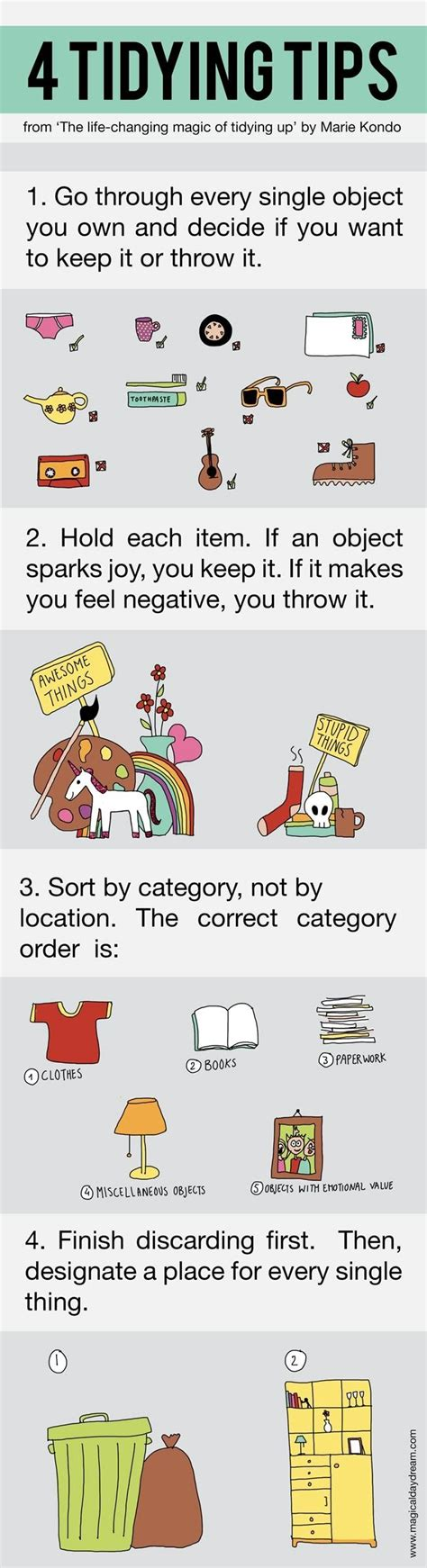 kondo tips 10 afbeeldingen mari kondo opruim tips op
