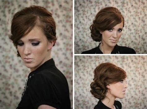 twisted side bun updo hairstyles tutorial popular haircuts twisted side bun updo hairstyles tutorial popular haircuts