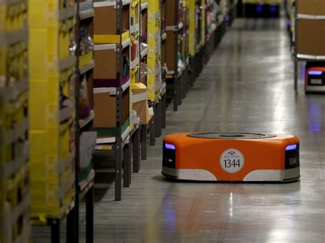 amazon warehouse robots amazon warehouse robots is this the future of shipping