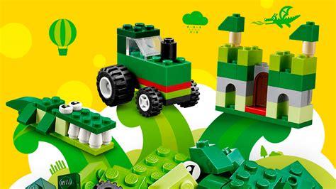 Lego Classic lego classic green creativity box byrnes