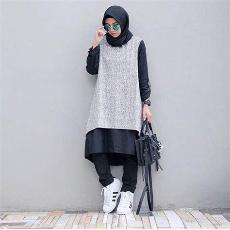 Baju Anak Jsp962 Swag Style 04 trend baju muslim 2018 hijabis style log tops in