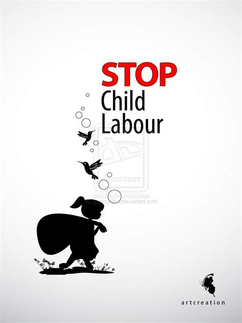 Handmade Poster On Child Labour - stop child labour poster ideas for nift nid ceed