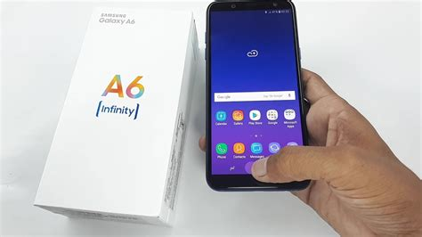 samsung galaxy a6 unboxing and review
