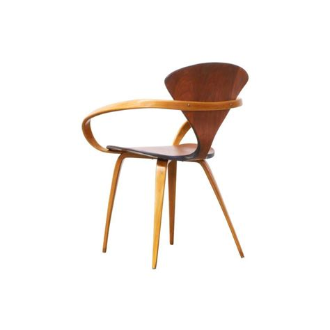 norman cherner armchair rare norman cherner pretzel armchair for plycraft at 1stdibs
