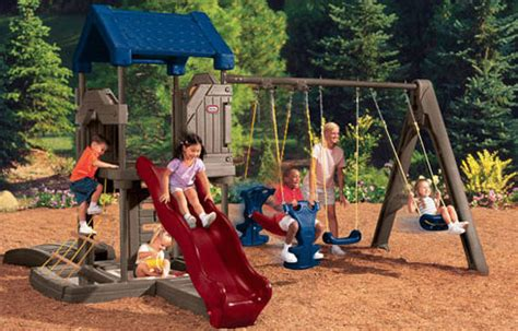 tike swing and slide tikes endless adventures playset reviews on top