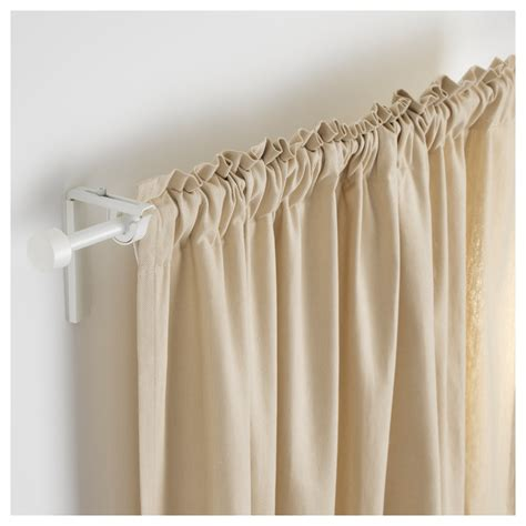 curtain rod white r 196 cka curtain rod white 120 210 cm ikea