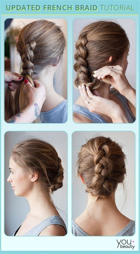 hairstyles easy tutorials 10 french braids hairstyles tutorials everyday hair