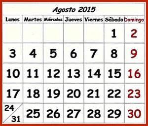 Calendario Agosto Not 237 Cias Ponto Calend 193 De Agosto De 2015 Para