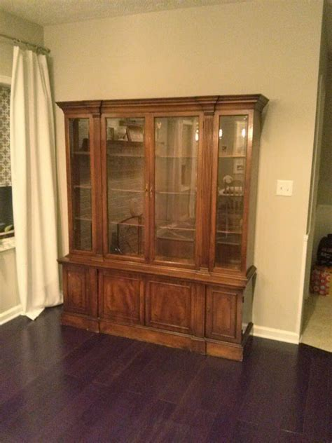 china cabinet for sale craigslist newlywed nesters craigslist dining makeover