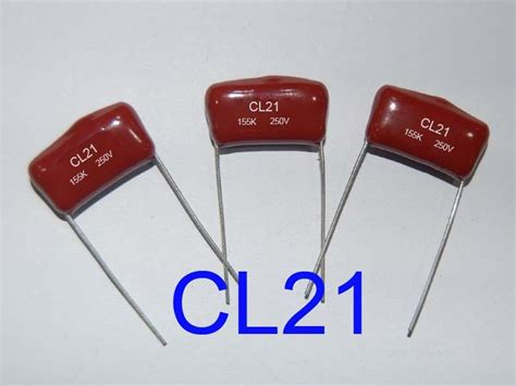 capacitor metalized polyester metallized polyester capacitor cl21 mef sr china manufacturer capacitor