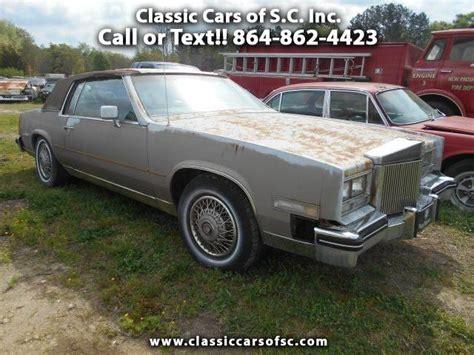 1984 Cadillac Eldorado by 1984 Cadillac Eldorado Biarritz For Sale On Classiccars