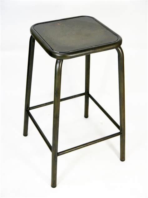 Stackable Metal Bar Stools by Bean Metal Stackable Retro Bar Stool 640mm Coffee Rust
