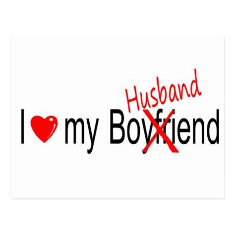 I My by I My Husband Postcard Zazzle