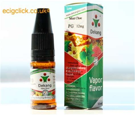 Chocomint Nic 3 E Juice Liquid Vapor 10ml dekang mint choc e liquid review
