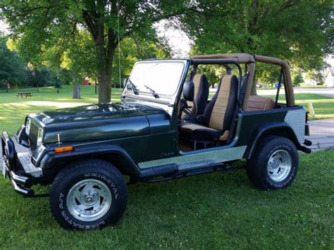 jeep wrangler 4 cylinder for sale 1994 jeep wrangler yj soft tops 4x4 4 cylinder