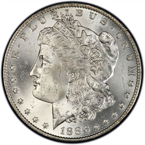 1886 morgan silver dollar values and prices past sales