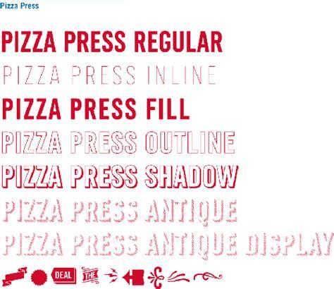 domino pizza font pizza press font requests fonts101 com